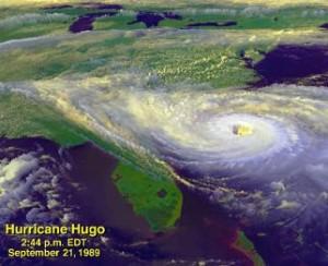 Hurricane Hugo by NASA Goddard Space Flight Center