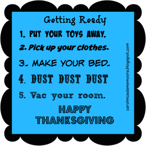 thanksgiving to do for kids
