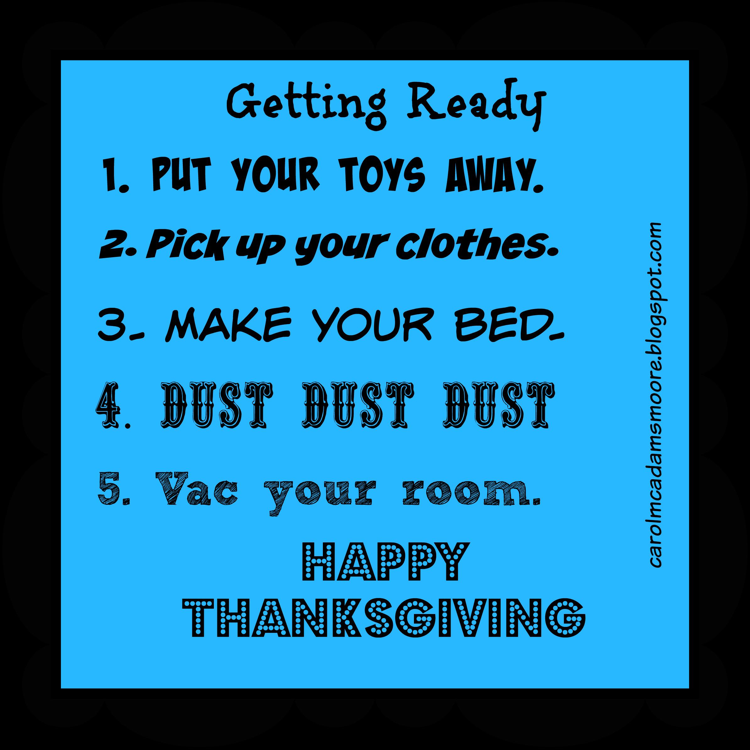 Helping Children Get Ready for Thanksgiving | Christian Children\'s ...
